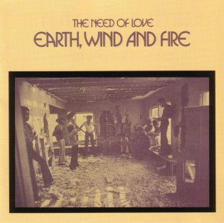 Earth Wind & Fire - The need of love (Front)