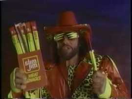 If she likes all that jerk, she should snap into a Slim Jim.