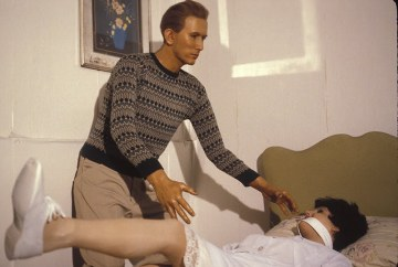 The museum had lovely scenes such as Richard Speck murdering a nurse.